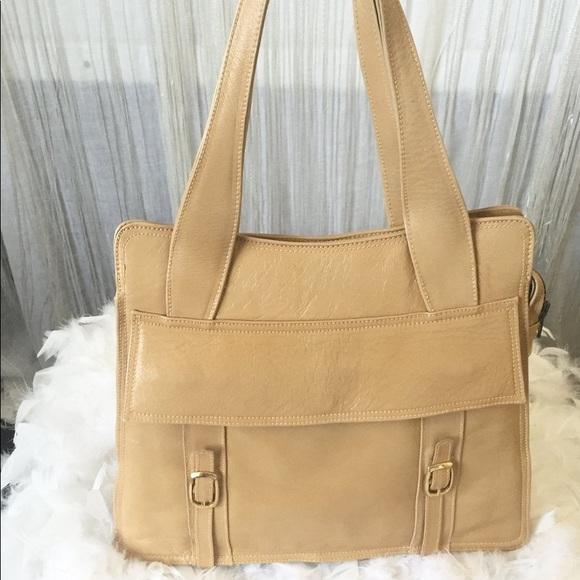 1970's Vintage Leather Roxy Shoulder Bag